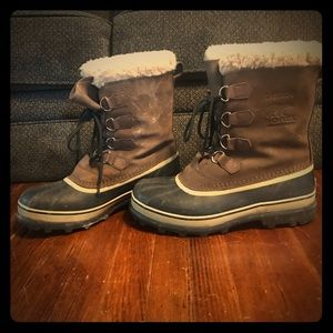 Sorely Caribou Waterproof Snow Boots